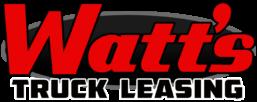 Watt's Truck Leasing